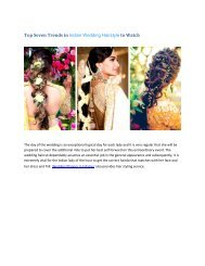 Top Seven Trends in Indian Wedding Hairstyle to Watch
