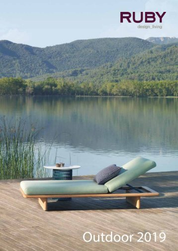 RUBY design_living Outdoor 2019