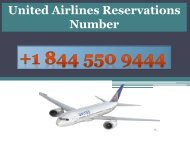 How to find online Booking Tickets in United Airlines?