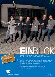 Gemeindemagazin EINBLICK 1/2019