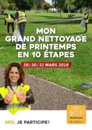 Guide de ramasse pour le Grand nettoyage de Printemps 2019