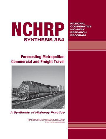 Forecasting Metropolitan Commercial and Freight Travel