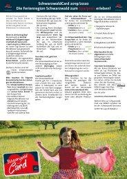 SchwarzwaldCard Kurzinformation 2019_2020