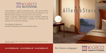 Allergo - Kolmer Fenster - Türen Wintergarten GmbH