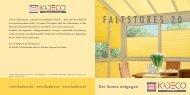 FALTSTORES 20 - Kolmer Fenster - Türen Wintergarten GmbH