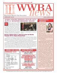 WWBA February 2019 Newsletter - M