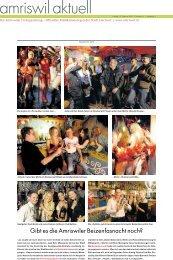 amriswil aktuell, Ausgabe vom 12. Februar 2010 [PDF