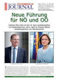 Österreich Journal Ausgabe 16