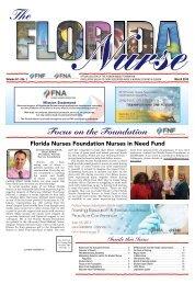The Florida Nurse - March 2019
