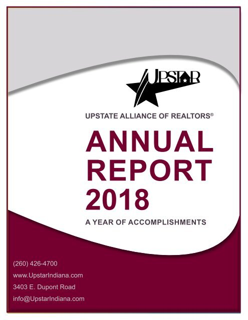 UPSTAR 2018 Annual Report