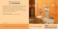 FALTSTORES 50 - Kolmer Fenster - Türen Wintergarten GmbH