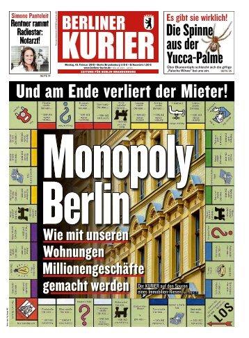 Berliner Kurier 18.02.2019