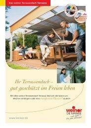 Terrazza - Kolmer Fenster - Türen Wintergarten GmbH