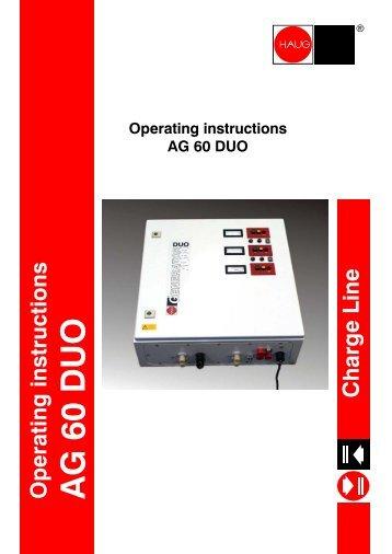 AG 60 DUO - Haug GmbH
