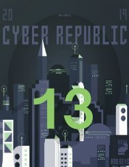 Cyber Republic Weekly Update 13