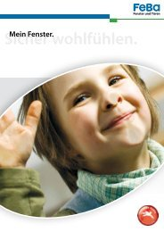 Sicher wohlfühlen. - Kolmer Fenster - Türen Wintergarten GmbH