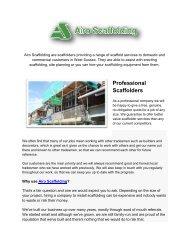 Top Quality Scaffolding Works |Airo Scaffolding