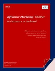 Influencer Marketing Whether to Outsource or In-house