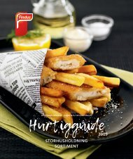 Findus Foodservice Hurtigguide 2019