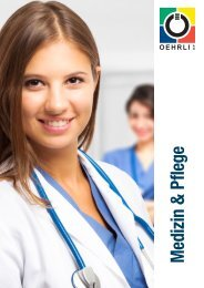 Oehrli Berufsmode: Medizin & Pflege