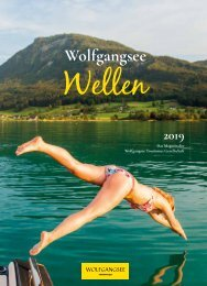 Wolfgangsee Magazin 2019 deutsch