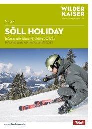 Gästemagazin Söll Winter