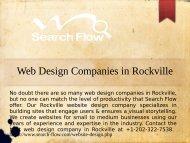 Best Web Design Companies in Rockville