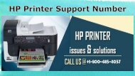 Hp Printer Support Number 1-800-485-4057