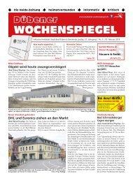 Dübener Wochenspiegel - Ausgabe 03 - Jahrgang 2019