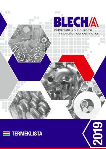 Blecha Katalog 2019 HU