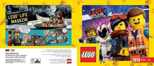 LEGO Katalog 1.Halbjahr 2019