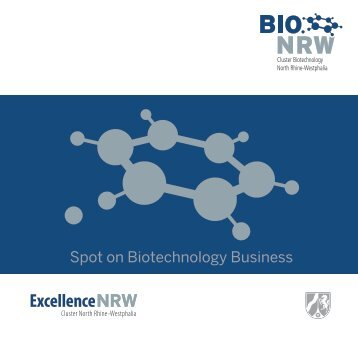 Spot on Biotechnology Business - BIO.NRW