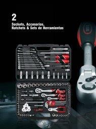 Catalogo Sockets, Accesorios, Ratchets  y Sets de Herramientas Yato Carbone