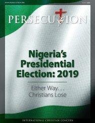 March 2019 Persecution Magazine