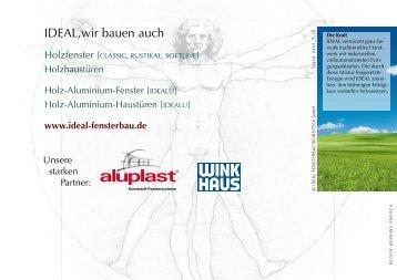 UW -Wert - Kolmer Fenster - Türen Wintergarten GmbH