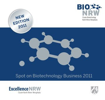 Spot on Biotechnology Business - BIO.NRW