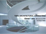 TAKE ARCHITECTURAL CONSULTING 2019