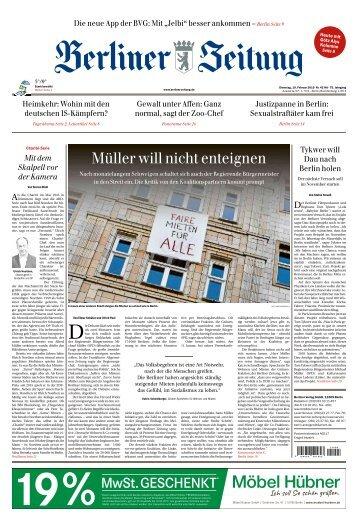 Berliner Zeitung 19.02.2019