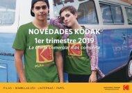 Presentacion novedades Kodak 1er trimestre 2019