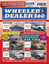 Wheeler Dealer 360 Issue 08, 2019