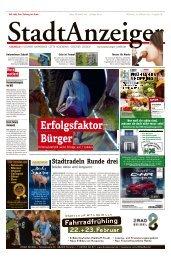 Stadtanzeiger Coesfeld kw 8