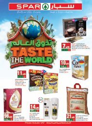 SPAR  flyer from 20 to 26 Feb 2019