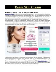 How To glow & care your skin with The Help Of Beam Skin Cream