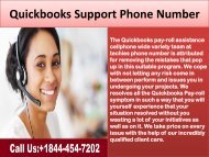 Quickbooks Customer Support Phone Number 20