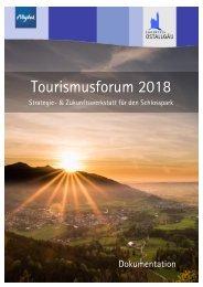 Dokumentation Tourismusforum 2018