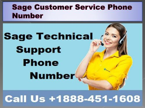 Sage Customer Service Phone Number 19b