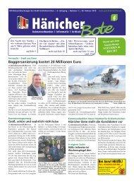 Hänicher Bote - Ausgabe 02 - Jahrgang 2019