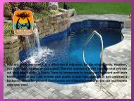 Make Your Swimming Pool An Oasis By Adding These 4 Luxurious Features