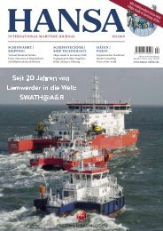 HANSA - International Maritime Journal Februar 2019