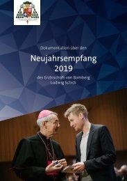 Neujahrsempfang 2019 des Erzbischofs von Bamberg